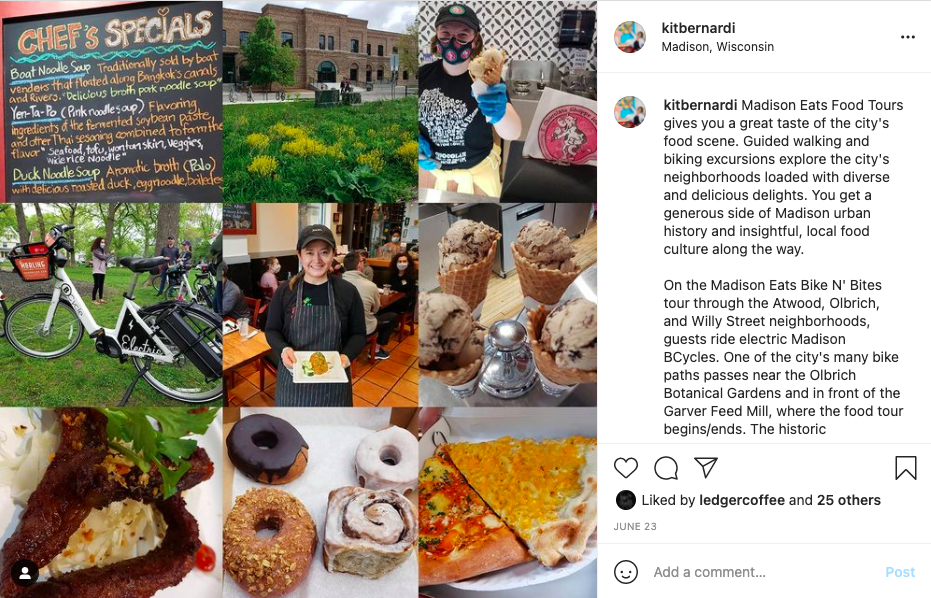 Madison Eats Food Tours gives you a great taste of the city's food scene